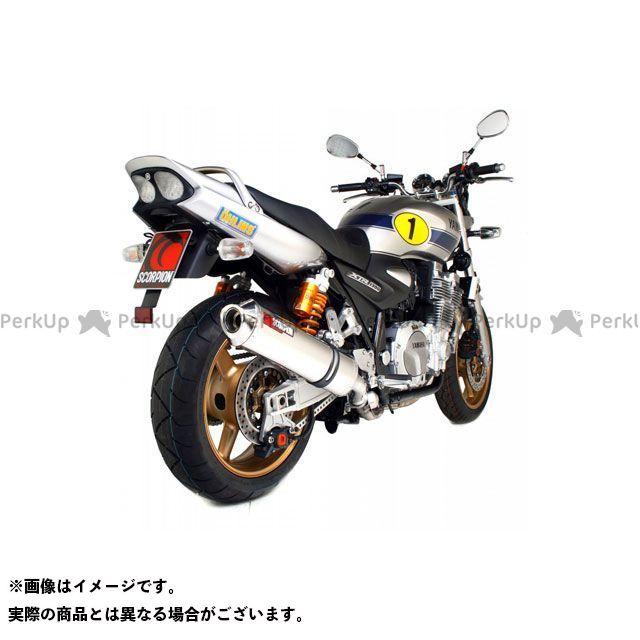 SCORPION XJR1300 Factory オーバルスリップオン ステンレススリーブ Homologated Yamaha XJR 1300 07-Current 2007-2 | EYA80SEO SCORPION