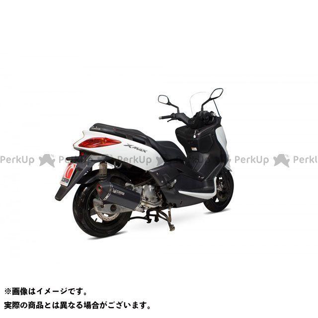 SCORPION Xマックス250 Serket フルシステム ブラックセラミックコーティングスリーブ Yamaha XMAX 125 2008-2016   RYA105BCER SCORPION