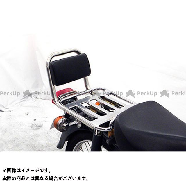 ウイルズウィン スーパーカブ90 カブ90(デラックス/スタンダード)用 バックレスト付き タンデムバー