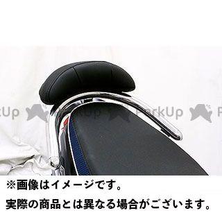 ウイルズウィン VJR 125 キムコ VJR125i用32φバックレスト付きタンデムバー ブライアントタイプ ラージ