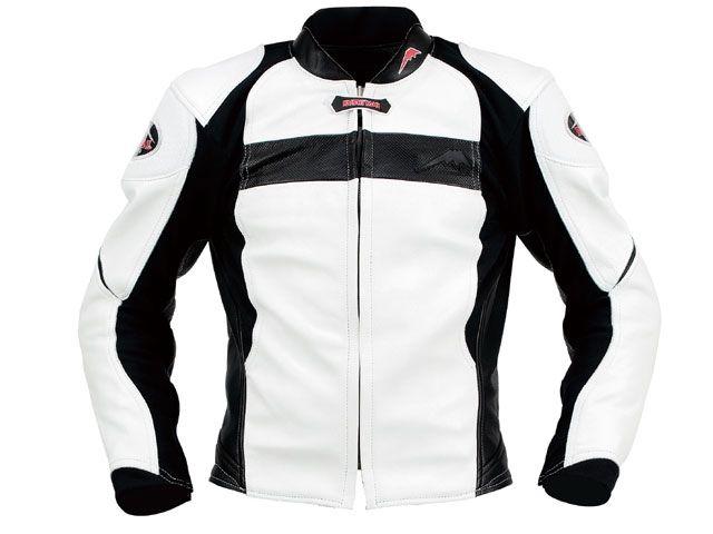 KUSHITANI クシタニ ジャケット K-0607 インフィニティジャケット ホワイト/ブラック L/3W