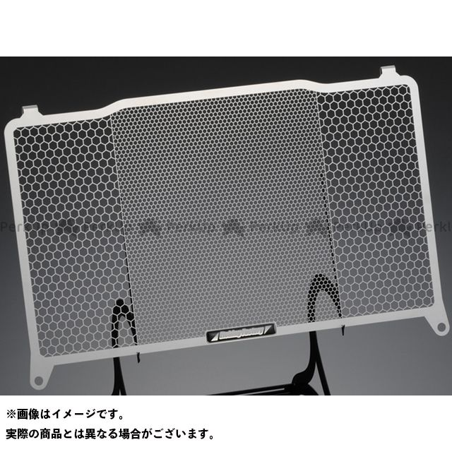 【特価品】エッチングファクトリー ZRX400 ZRX400(94~08)用 ラジエターガード カラー:青エンブレム ETCHING FACTORY