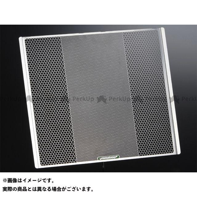 エッチングファクトリー ニンジャZX-10R ZX-10R(08~17)用 ラジエターガード 青エンブレム ETCHING FACTORY