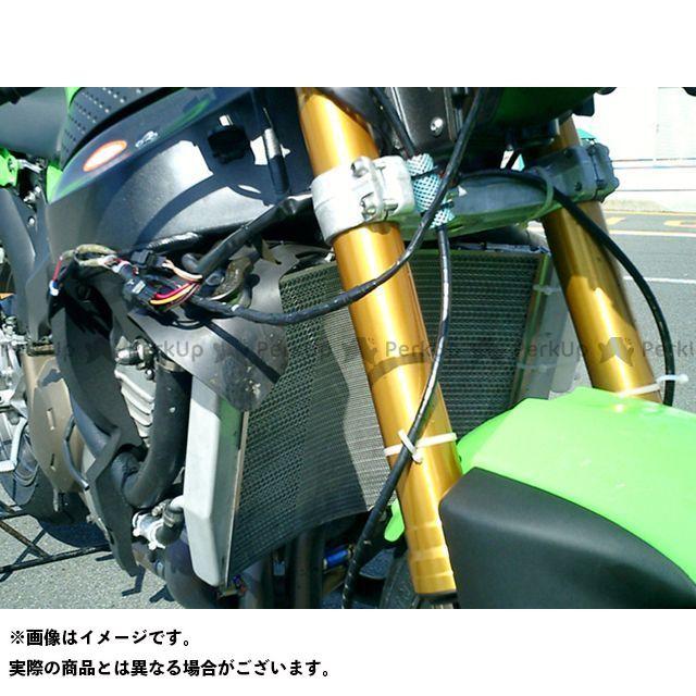 【特価品】エッチングファクトリー ニンジャZX-6RR ZX-6RR(05~06)用 ラジエターガード カラー:赤エンブレム ETCHING FACTORY