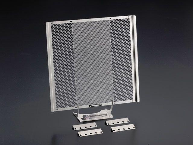 送料無料 エッチングファクトリー 汎用 ラジエター関連パーツ PLOTラウンドラジエター(レーシングコア)用コアガード 緑エンブレム