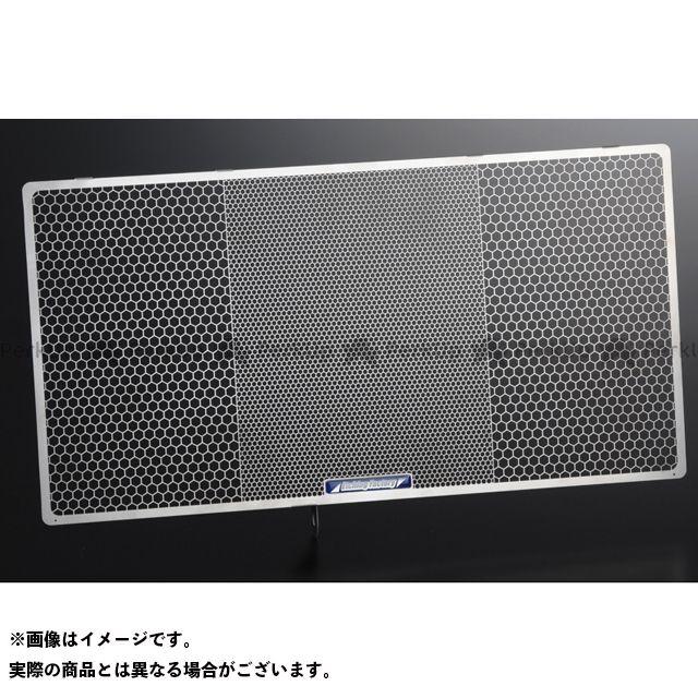 送料無料 エッチングファクトリー バンディット1250 ラジエター関連パーツ Bandit1250(07~)用 ラジエターガード 青エンブレム