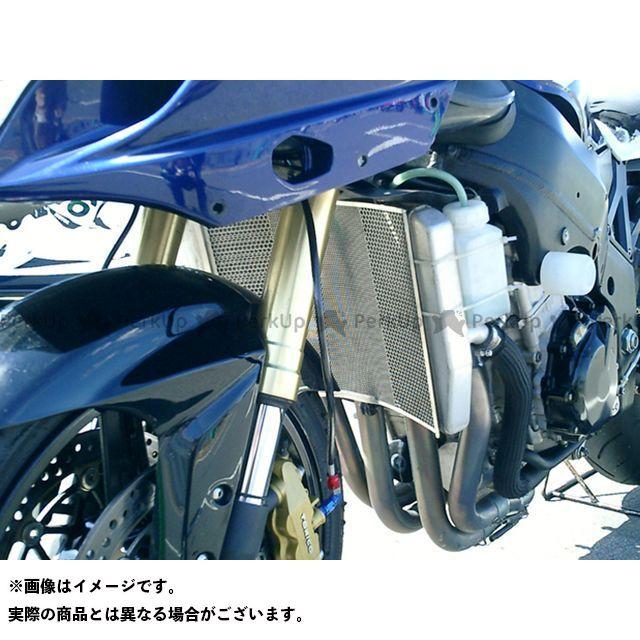 送料無料 エッチングファクトリー GSX-R600 ラジエター関連パーツ GSX-R600(04-05)用 ラジエターガード 黒エンブレム