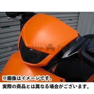 モトサービスマック アドレスV125 アドレスV125G アッパーフェイスマスク【DB RACING】 カラー:未塗装(白ゲル) MOTO SERVICE MAC