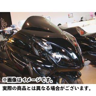 モトサービスマック マジェスティ フェイスコンバート【decade】 カラー:未塗装(白ゲル) MOTO SERVICE MAC