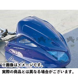 【無料雑誌付き】モトサービスマック マジェスティC フェイスコンバート STD【DRUG BOMBER】 カラー:未塗装 MOTO SERVICE MAC
