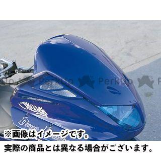 モトサービスマック マジェスティC フェイスコンバート スムージングタイプ【DRUG BOMBER】 カラー:未塗装 MOTO SERVICE MAC