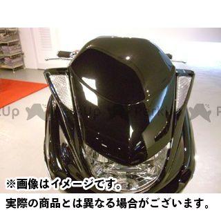 モトサービスマック マジェスティC フェイスコンバート【decade】 カラー:未塗装(白ゲル) MOTO SERVICE MAC