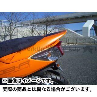 モトサービスマック シグナスX リアスポイラー STDシート用(ホワイトゲルコート仕上げ)【DB RACING】 MOTO SERVICE MAC