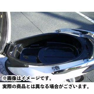 モトサービスマック MOTO SERVICE MAC ツーリング用ボックス ツーリング用品 商品追加値下げ在庫復活 無料雑誌付き シグナスX メットインボックスOKE RACING DB 日本最大級の品揃え ブラックゲルコート仕上げ