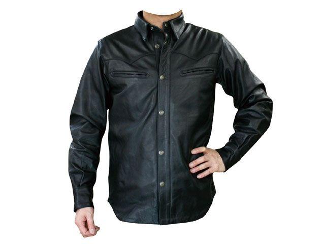 送料無料 モトフィールド MOTOFIELD ジャケット MF-LJ75 ウエスタンシャツジャケット ブラック 4L
