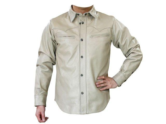 送料無料 モトフィールド MOTOFIELD ジャケット MF-LJ75 ウエスタンシャツジャケット ベージュ 3L