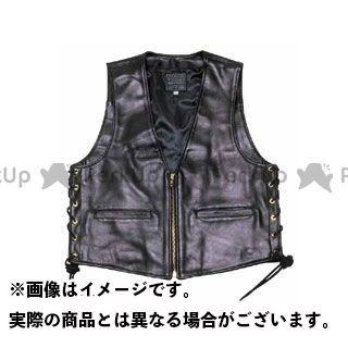KADOYA カドヤ K'S LEATHER No.0502 ZB-VEST(ブラック) L