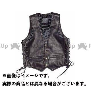 KADOYA カドヤ K'S LEATHER No.0503 ZA-VEST(ブラック) M