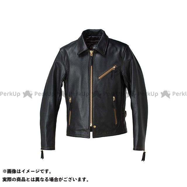 KADOYA カドヤ ジャケット K'S LEATHER No.1152 VNS-3 シングルライダース ブラック×ブラウン 3L