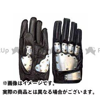 KADOYA SHINYA REPLICA No.3510 HAMMER GLOVE A ブラック×シルバー LL カドヤ