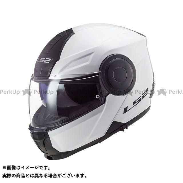 エルエスツーヘルメット LS2 HELMETS システムヘルメット フリップアップ ホワイト サイズ:XXL 流行のアイテム スコープ ヘルメット 1着でも送料無料 SCOPE