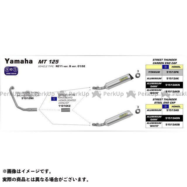【無料雑誌付き】アロー YAMAHA MT 125 14 HOMOLOGATED ALUMINIUM THUNDER SILENCER FOR COLLECTOR | 51513AO ARROW