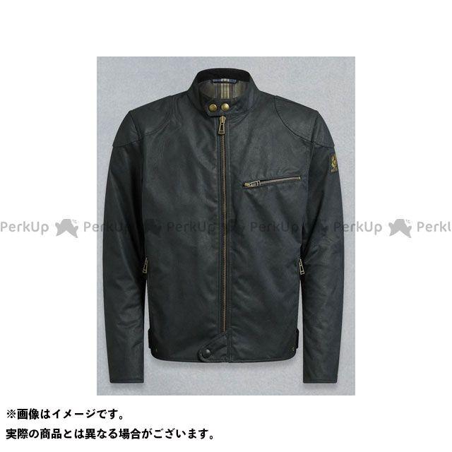 【エントリーで最大P23倍】ベルスタッフ ライディングジャケット ARIEL ブルゾン ワックスコットン ブラック サイズ:XL Belstaff