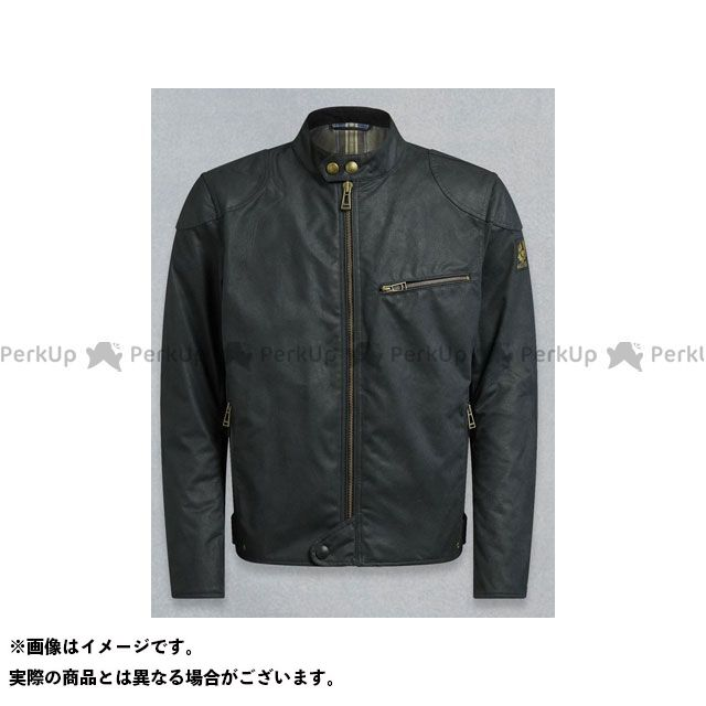 【エントリーで最大P23倍】ベルスタッフ ライディングジャケット ARIEL ブルゾン ワックスコットン ブラック サイズ:3XL Belstaff