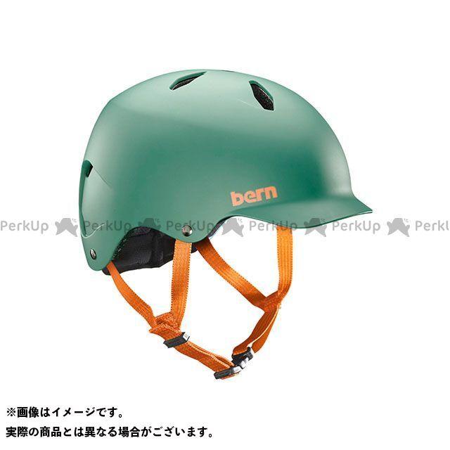 バーン 自転車 bern ヘルメット 自転車用品 無料雑誌付き 児童用ヘルメット BANDITO Hunter バンディート 驚きの価格が実現 18%OFF 小学生対象 Green M Matte サイズ:S