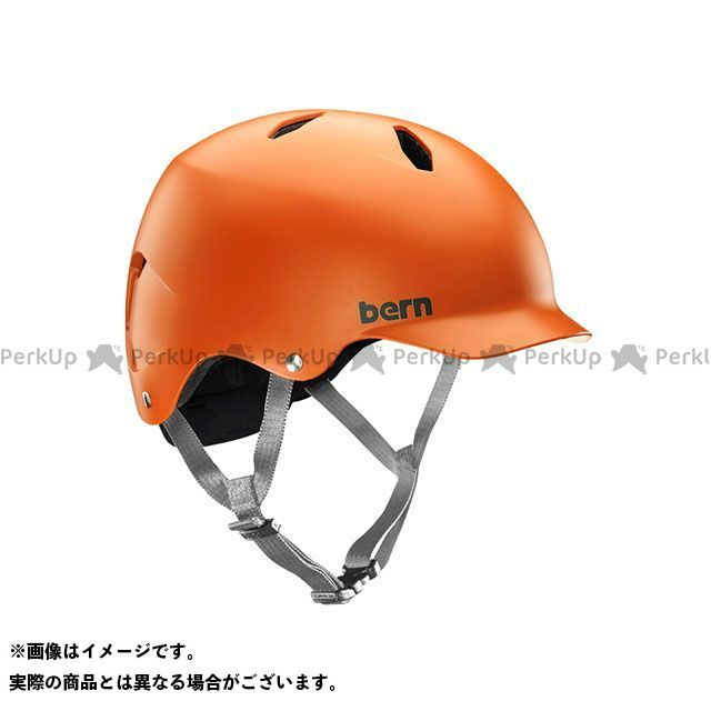 新色 バーン 自転車 bern ヘルメット 返品交換不可 自転車用品 無料雑誌付き 児童用ヘルメット Orange BANDITO サイズ:S バンディート Matte M 小学生対象