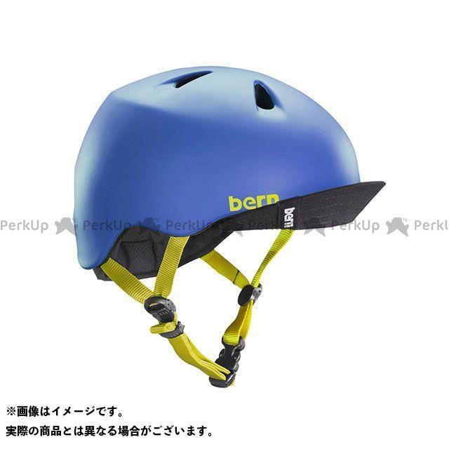 バーン 自転車 ショップ bern ヘルメット 自転車用品 交換無料 無料雑誌付き 幼児用ヘルメット ニーノ 幼稚園年少対象 サイズ:S M Blue Matte NINO
