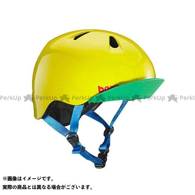 バーン 自転車 bern ヘルメット 待望 自転車用品 無料雑誌付き 幼児用ヘルメット NINO 爆売りセール開催中 Green Yellow サイズ:XS 幼稚園年少対象 ニーノ S Gloss