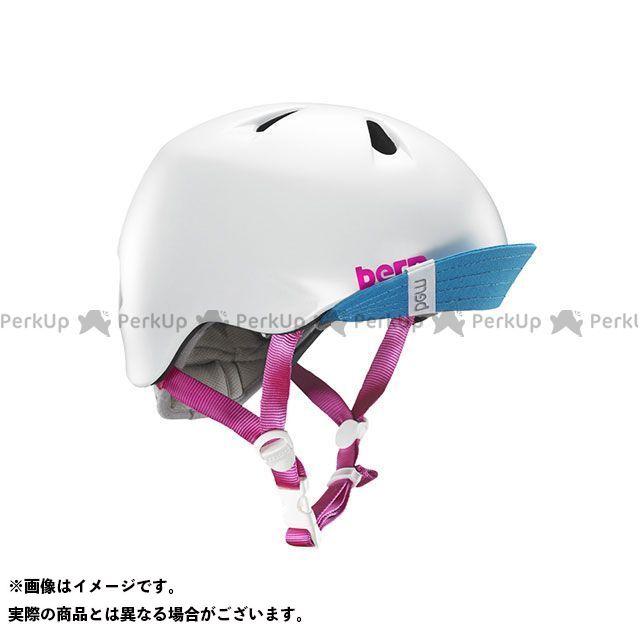 バーン 自転車 bern ヘルメット 自転車用品 無料雑誌付き 幼児用ヘルメット お値打ち価格で ニーナ サイズ:XS NINA Satin S White 幼稚園年少対象 在庫あり