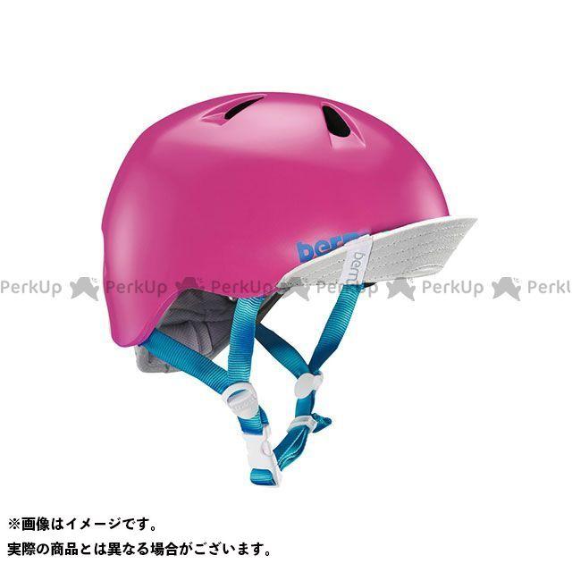 バーン 自転車 bern 希望者のみラッピング無料 ヘルメット 自転車用品 無料雑誌付き 幼児用ヘルメット NINA おトク 幼稚園年少対象 Satin M Pink ニーナ サイズ:S Hot