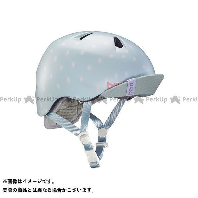 バーン 自転車 bern ヘルメット 自転車用品 無料雑誌付き 幼児用ヘルメット NINA サイズ:XS S Dot Seaglass Polka 与え 往復送料無料 Satin 幼稚園年少対象 ニーナ