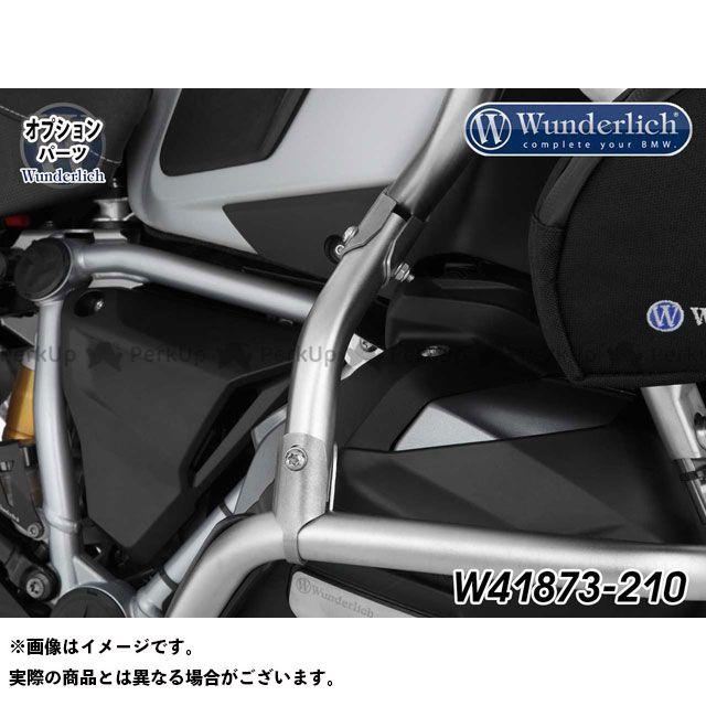 ワンダーリッヒ Wunderlich ツーリング用バッグ 至上 ツーリング用品 シルバー エントリーで最大P19倍 送料無料激安祭 R1250GSアドベンチャー 純正タンクガードエクステンション用ブレースバー