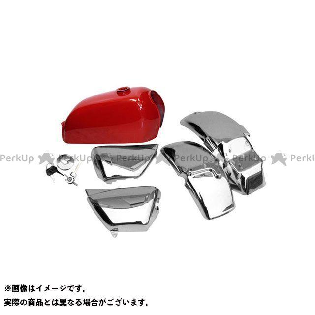 田中商会 エイプ50 エイプ用 タンク&外装セット カラー:レッド タナカショウカイ