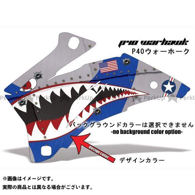 AMR GSX-R600 GSX-R750 専用グラフィック コンプリートキット デザイン:P40ワーホック デザインカラー:オレンジ バックグラウンドカラー:選択不可 AMR Racing