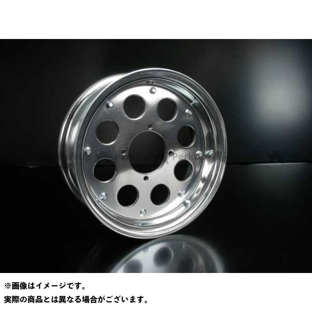 田中商会 ゴリラ モンキー 10インチ アルミホイール・タイヤセットJ数選択可能 未組込 ホイール:4.8J タイヤ:110/70-10 タナカショウカイ
