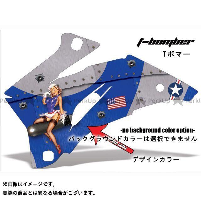 AMR ニンジャZX-6R 専用グラフィック コンプリートキット デザイン:Tボンマー デザインカラー:ブルー バックグラウンドカラー:選択不可 AMR Racing