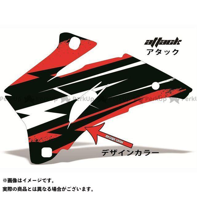 AMR ニンジャZX-6R 専用グラフィック コンプリートキット デザイン:アタック デザインカラー:レッド バックグラウンドカラー:選択不可 AMR Racing