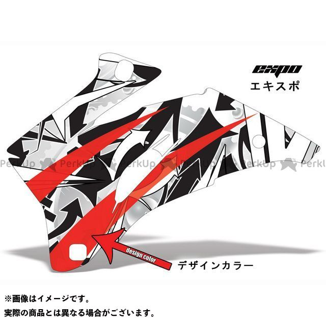 AMR ニンジャZX-6R 専用グラフィック コンプリートキット デザイン:エクスポ デザインカラー:イエロー バックグラウンドカラー:選択不可 AMR Racing