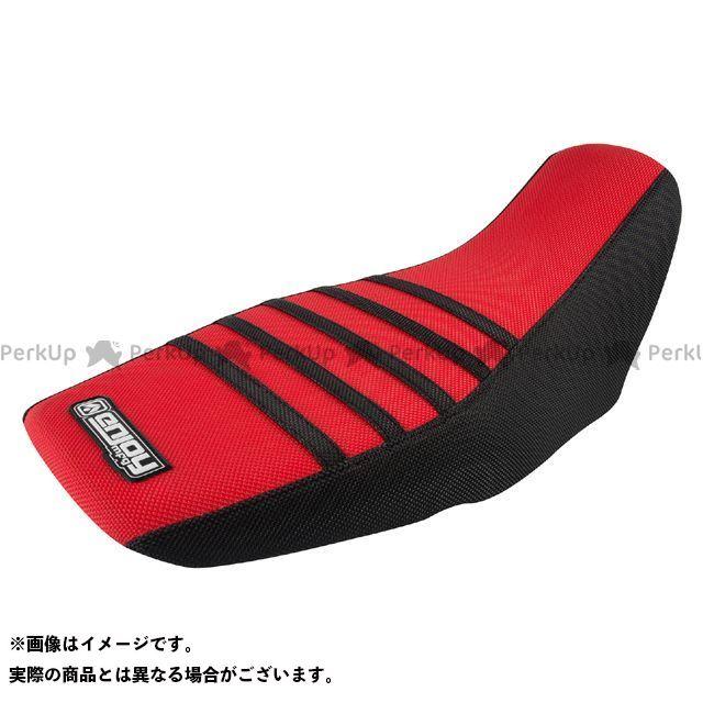 エンジョイMFG グロム シートカバー Honda カラー:すべて赤/リブ:イエロー MOTO禅