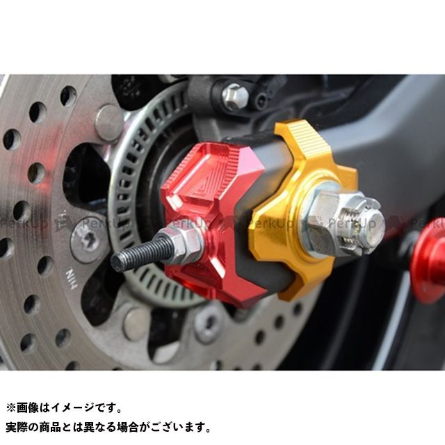 アグラス 売買 日本正規品 AGRAS チェーン関連パーツ 駆動系 無料雑誌付き その他のモデル カラー:ゴールド チェーンアジャスターキャップ
