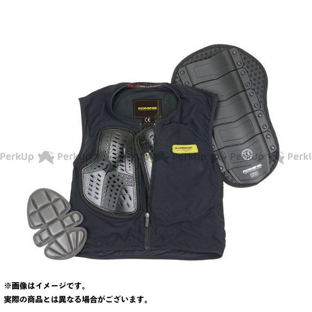 コミネ KOMINE ジャケット バイクウェア 無料雑誌付き ストア SK-694 ボディプロテクションライナーベスト ブラック サイズ:3XL 流行のアイテム CE