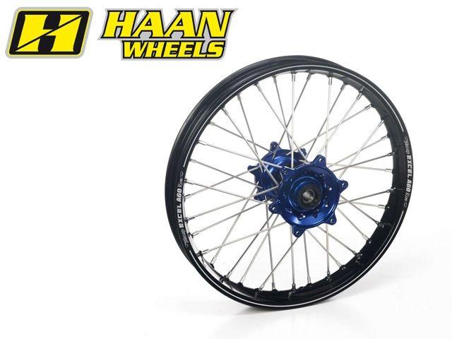ハーンホイール HAAN WHEELS ホイール本体 Rオフロードコンプリートホイール R2.15/19インチ レッド シルバー・ポリッシュ