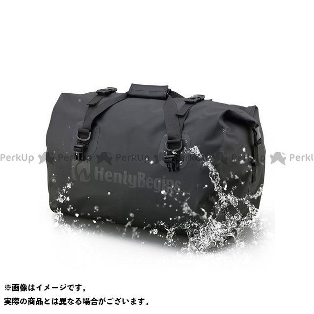 ヘンリービギンズ HenlyBegins ツーリング用バッグ ツーリング用品 無料雑誌付き モデル着用&注目アイテム ブラック DH-749 メーカー在庫あり 百貨店 防水シートバッグ