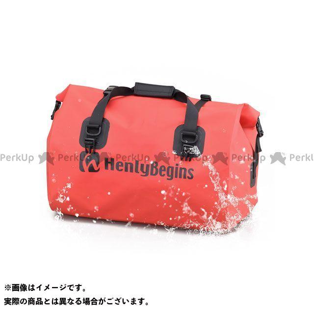 ヘンリービギンズ HenlyBegins ツーリング用バッグ ツーリング用品 無料雑誌付き DH-749 防水シートバッグ レッド 祝開店大放出セール開催中 メーカー在庫あり 在庫あり