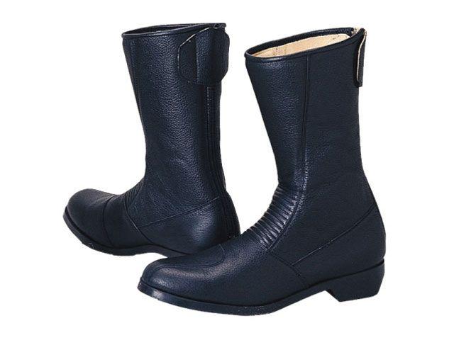 送料無料 コミネ KOMINE ライディングブーツ スパジオ 202 ブーツ(ブラック) メンズ 26.5cm