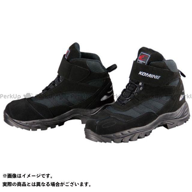 【エントリーで更にP5倍】コミネ BK-061 FTC ライディングシューズ(ブラック) サイズ:25.5cm KOMINE